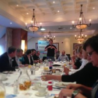 A business networking event in Bolton