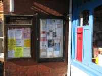 Post Office Noticeboard