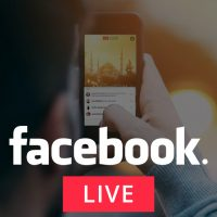 Facebook Live interviews about business networking